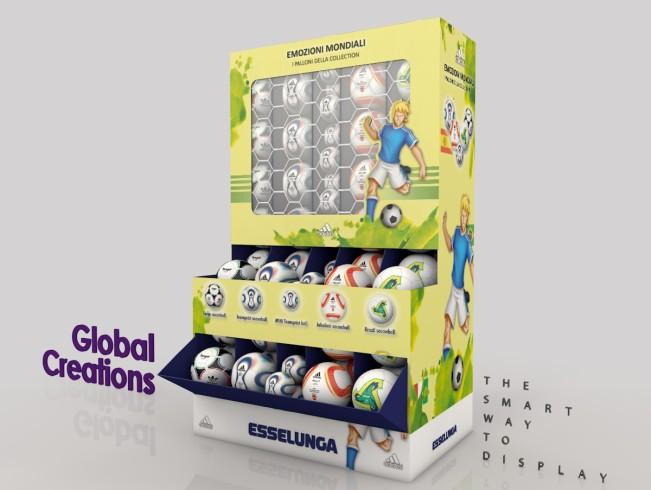 Op maat gemaakte display doos