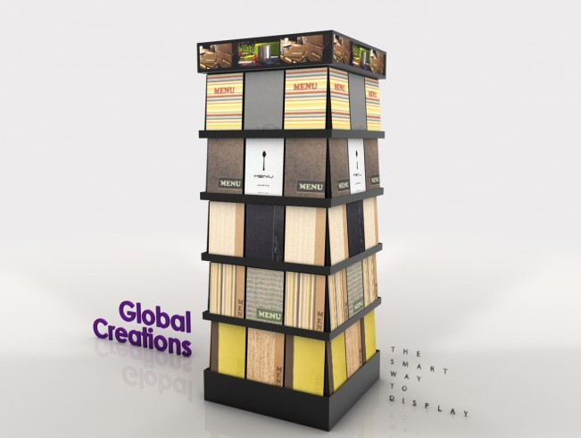 Specialist in display cases and instore communications