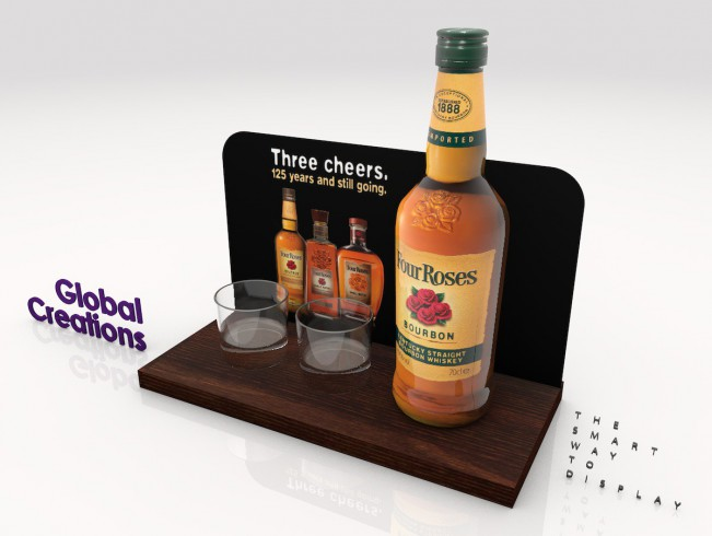 Specialist in bottle display racks and instore communications