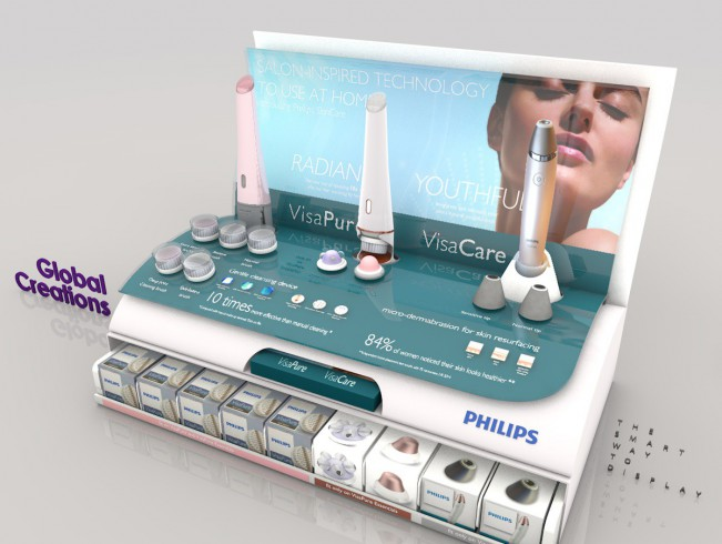 Specialist in perfume and cosmetic display stands