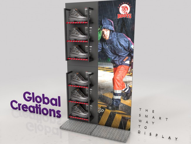 Specialist in instore communications and clothing racks