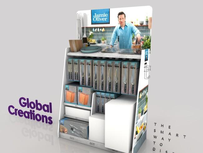 Specialist in supermarkt displays en instore communicatie