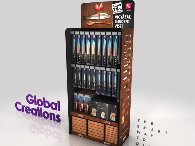Customised product presentation displays