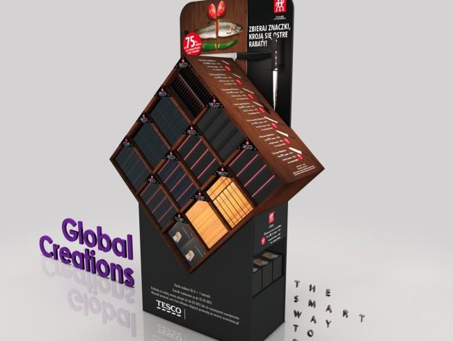 Custom store displays